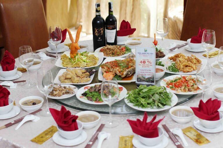 Lên ý tưởng về thực đơn trong mâm cỗ mời khách