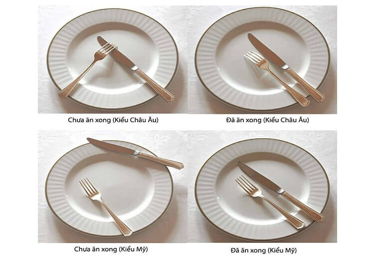 Bỏ túi quy tắc sử dụng dao dĩa trong bữa tiệc