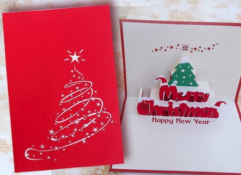 Thiết kế những chiếc thiệp ý nghĩa để tặng cho người thân nhân dịp Noel