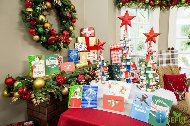 Có thể lên ý tưởng tổ chức cuộc thi trang trí không gian Giáng sinh của các phòng ban