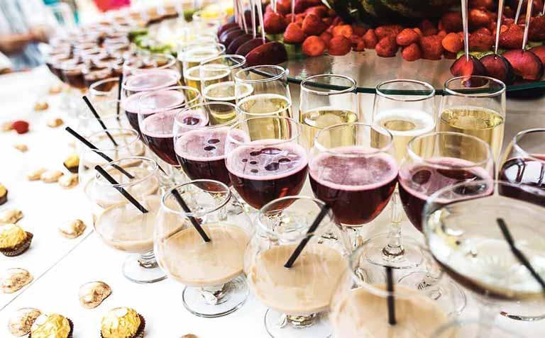 Tiệc rượu đòi hỏi sự chuẩn bị rất tinh tế