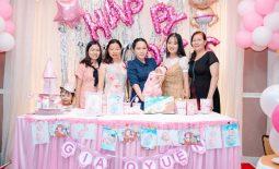 Tiệc đầy tháng tại Thanh Hoá