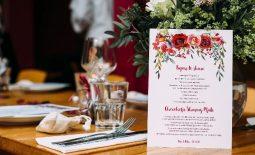 menu tiệc cưới