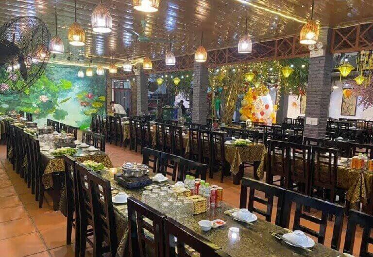 Nhà hàng tổ chức tiệc cuối năm mang nét văn hóa cổ truyền, giản dị