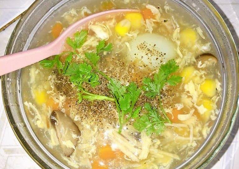Người miền Nam thường sử dụng soup làm món khai vị trong bữa tiệc của mình