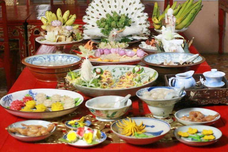 Nét độc đáo trong ẩm thực cưới miền Trung