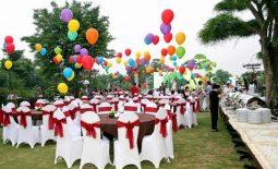 Bật mí 7 kinh nghiệm tổ chức tiệc buffet ngoài trời