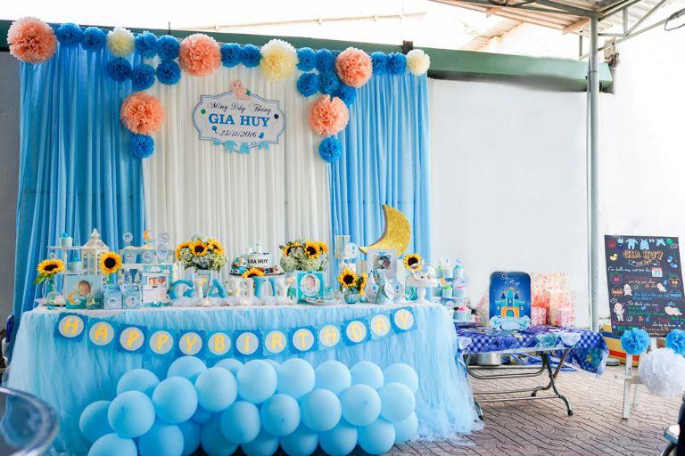 Chọn địa điểm tổ chức sinh nhật cho bé đóng vai trò rất quan trọng