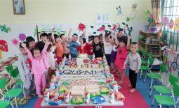 Kinh nghiệm tổ chức sinh nhật ở lớp cho thiên thần nhỏ