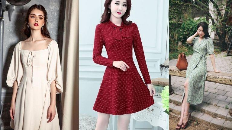 Váy cổ điển, đơn giản