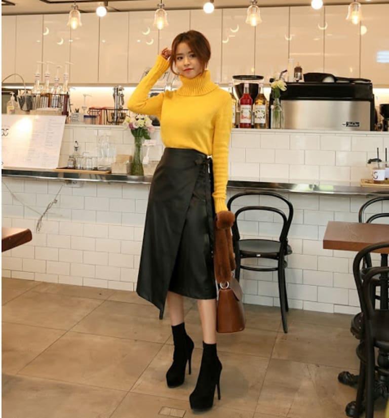 Chân váy midi phù hợp với nhiều phong cách lady, vintage ...